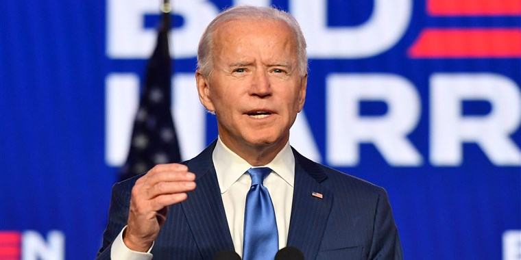 Joe Biden names top White House aides as doctors urge Trump to cooperate on Covid-19