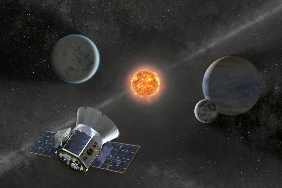 "Older than sun ""exoplanet"" is discovered by NASA's TESS Mission in our galaxy"