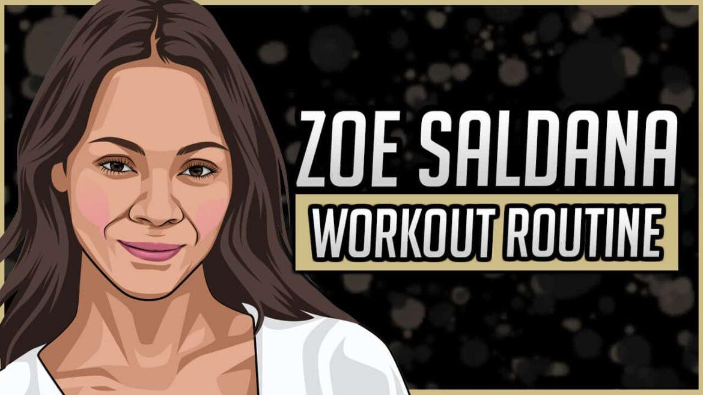 Zoe Saldana Workout Routine